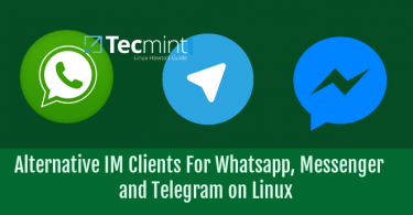 Alternative IM Clients For Linux