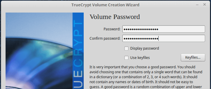Add Container Password
