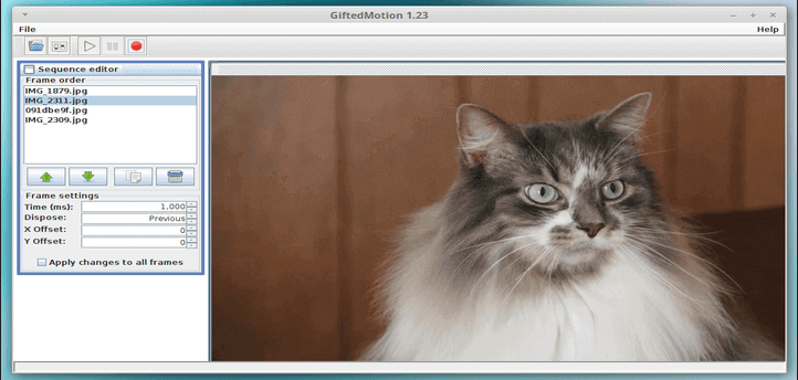 Create Animated Gif From Images in Linux