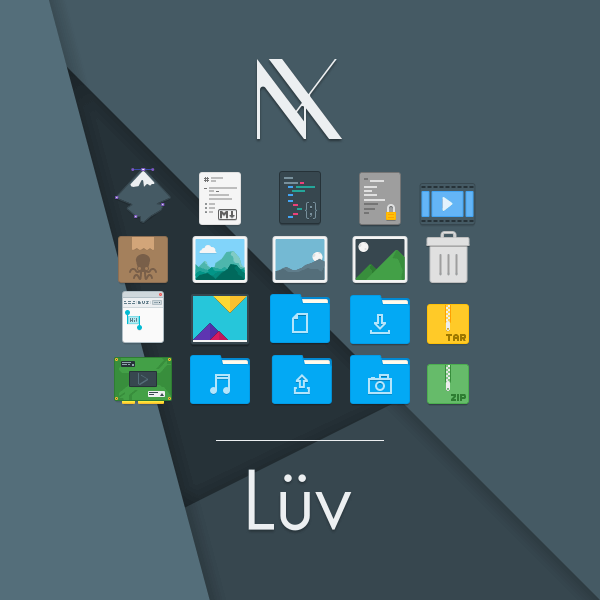 Luv Flattr Icon Theme