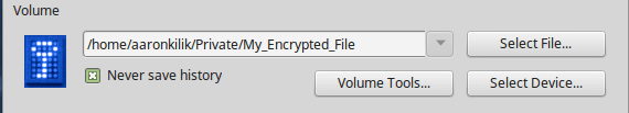 Mount Encrypted Volume
