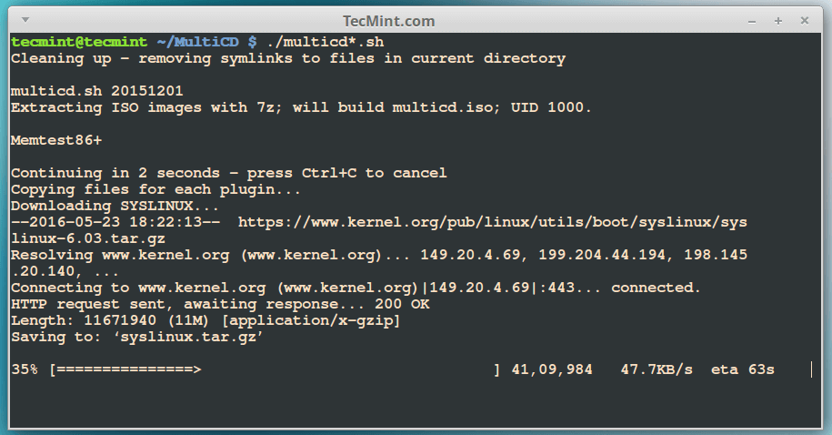 MultiCD - Combine Multiple Bootable Images into One