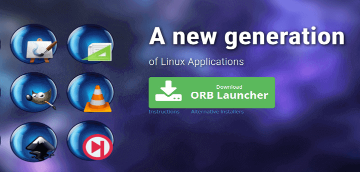 OrbitalApps - New Generation of Linux Apps