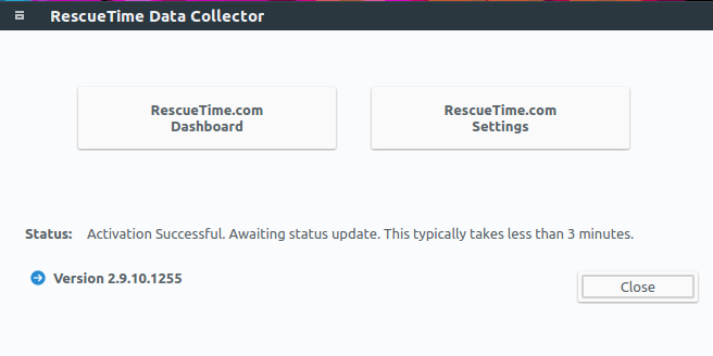 rescuetime data collector