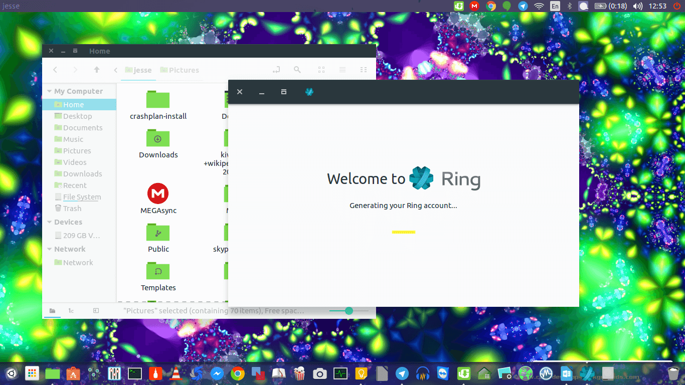 ring generating account