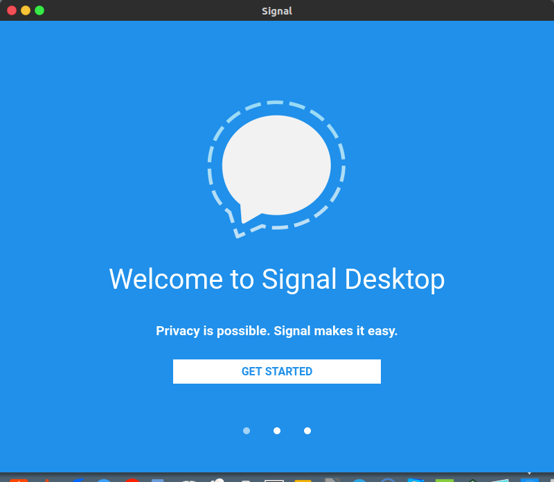 signal get started
