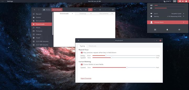 Arc-Theme-Red is a Variation of the Popular Arc Theme For Linux Desktops