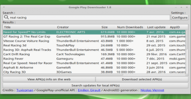 Download Android APK's in Ubuntu