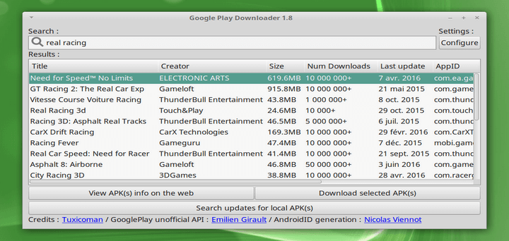 Download Android Apks On Your Linux System With Google Play Downloader