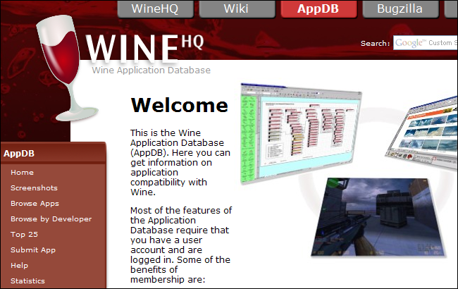 Wine Software