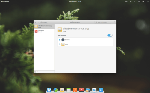 Elementary OS Online Accounts