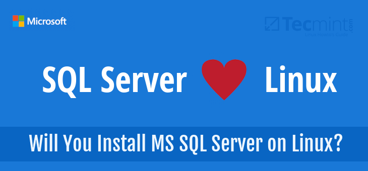 MS SQL Server for Linux