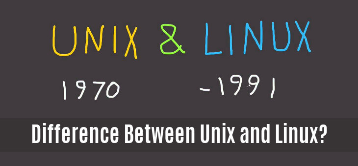 Difference Between Unix and Linux?