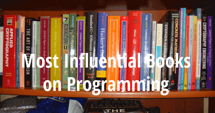 30 Most Influential Books on Programming