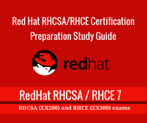 RedHat RHCSA and RHCE Certification Exam Study Ebook