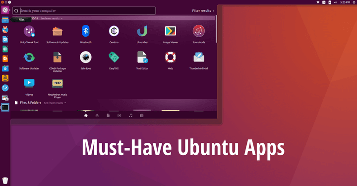 Best Ubuntu Desktop Apps
