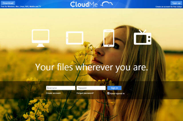 CloudMe Cloud Storage