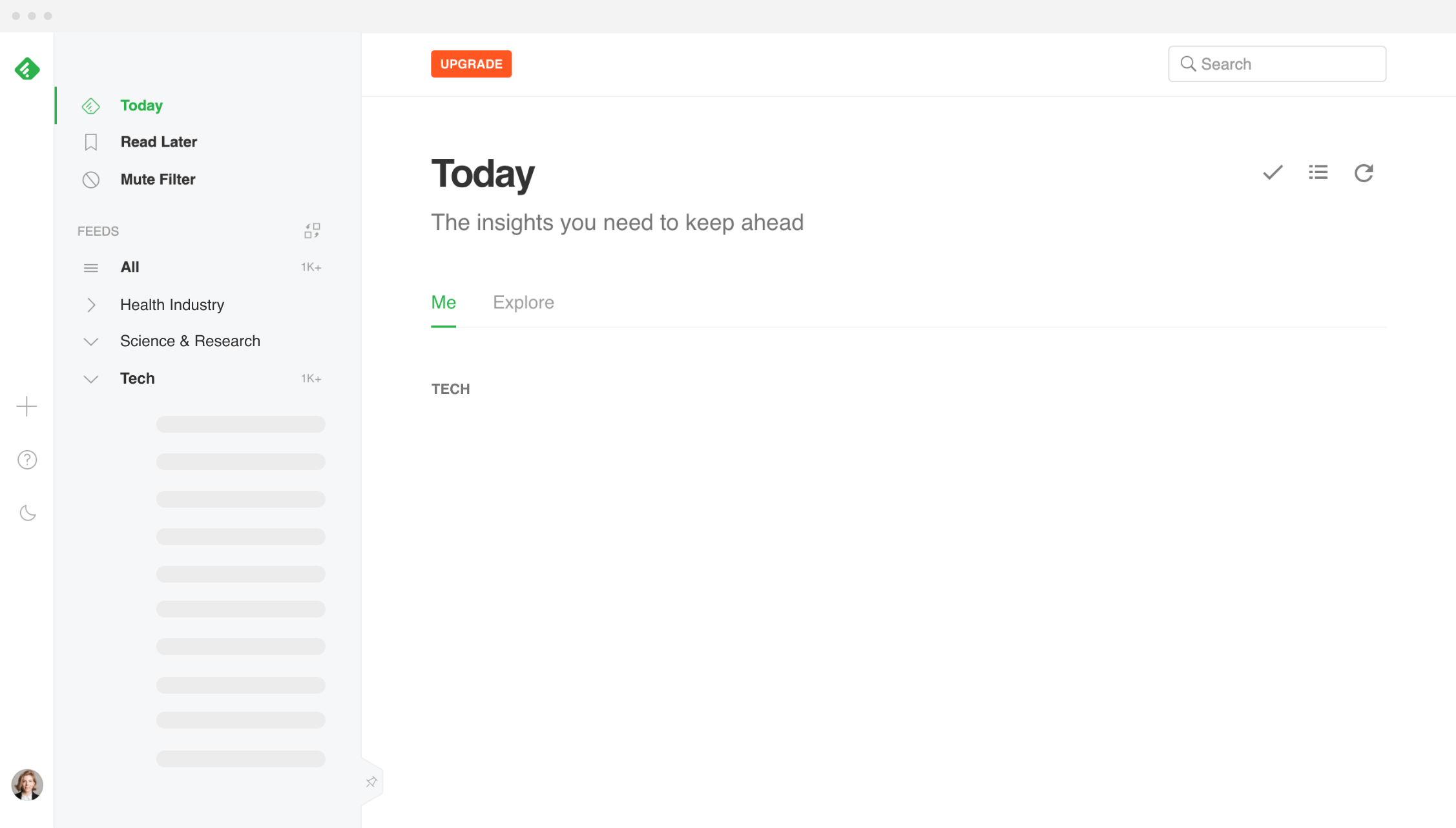 Feedly News Aggregator