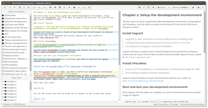 GitBook Editor - Book Writing Tool