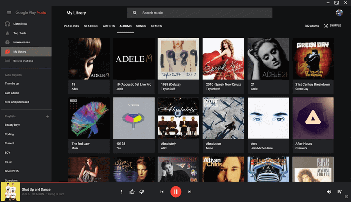 Google Play Music Client for Linux