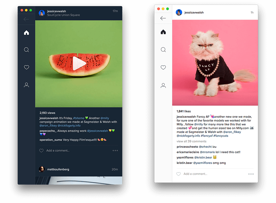 Ramme: An Unofficial Instagram Desktop App for Linux