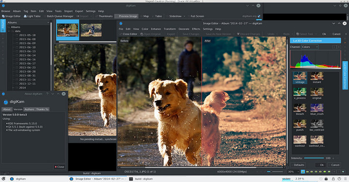 Digikam Photo Editor