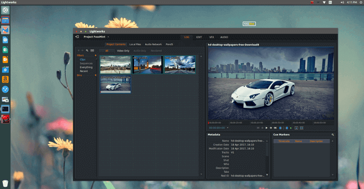 Lightworks Video Editor for Linux
