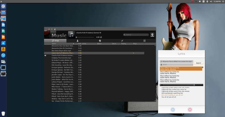 MU Linux Music Player