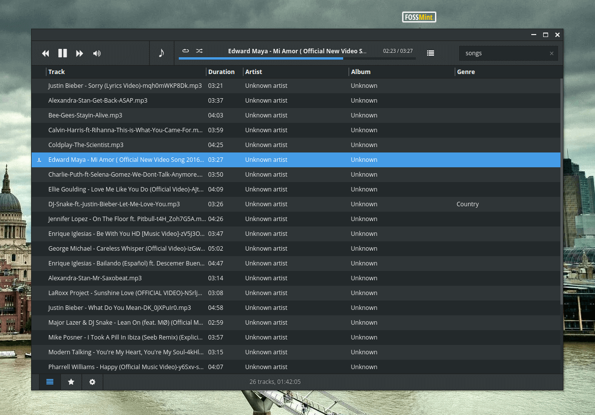 Museeks - A Simple, Clean and Stylish Music Player for Linux