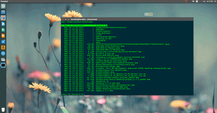 nnn - Linux Terminal File Browser