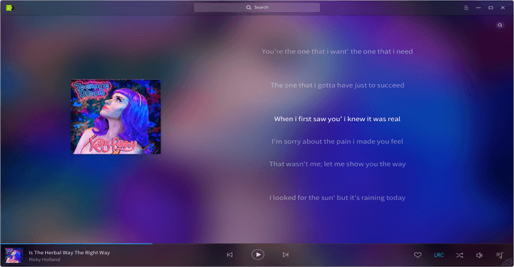 Deepin Music Player for Ubuntu