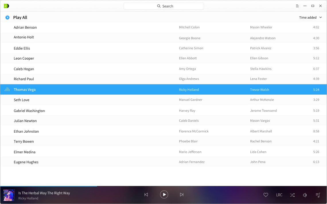 Deepin-Music-Player