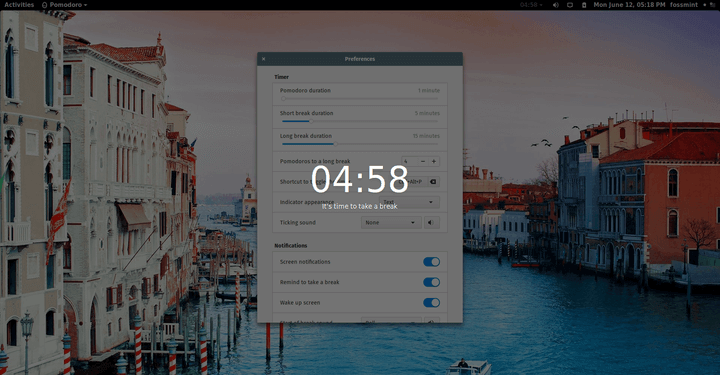 Gnome Pomodoro - A Time Management App