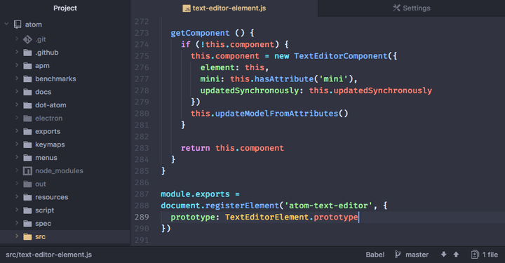 Atom - A Hackable Text Editor for The 21st Century