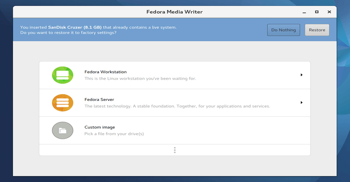 Fedora Media Writer - A Necessary Tool for the Fedora User