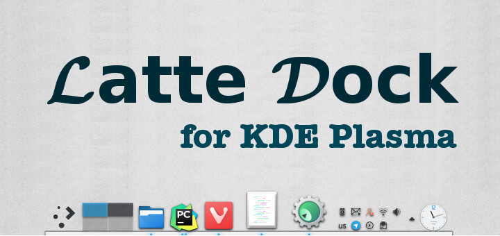 Latte Dock for KDE Plasma