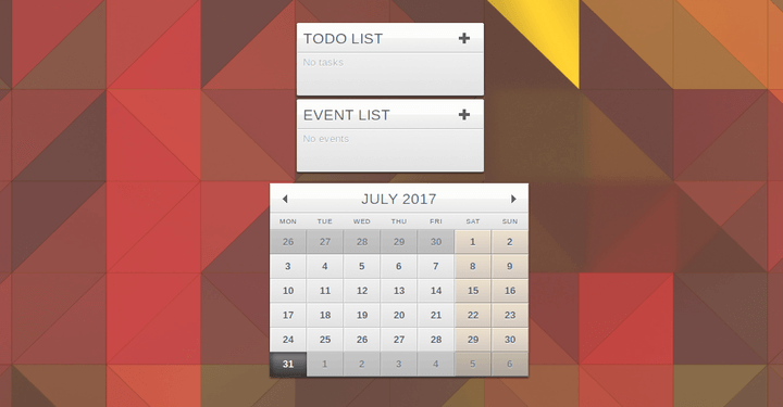 Rainlendar – A Calendar App for Linux