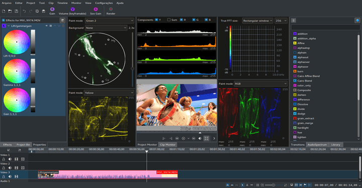 Kdenlive Video Editor for Linux