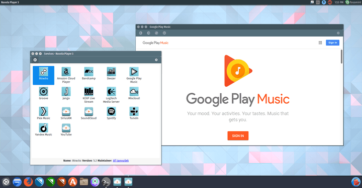 Nuvola Player for Linux