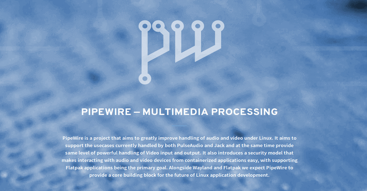 PipeWire – Improved Audio & Video Handling on Linux