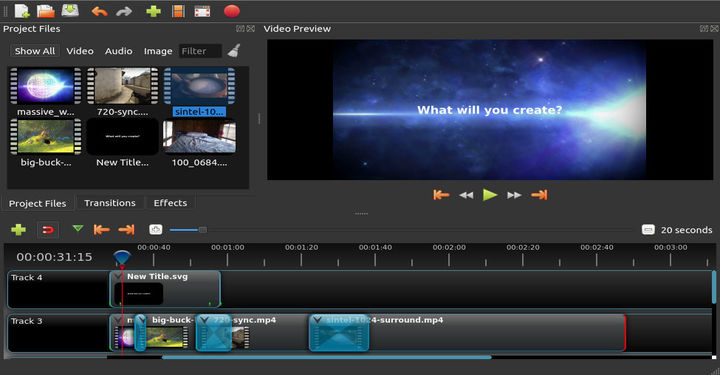 OpenShot Video Editor for Linux