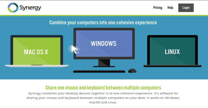 Synergy Mouse and Keyboard Sharing Software