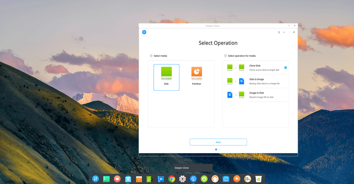 Deepin Clone – A System Backup and Restore Tool