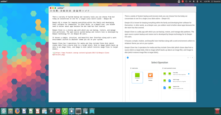 Justmd Markdown Editor for Linux
