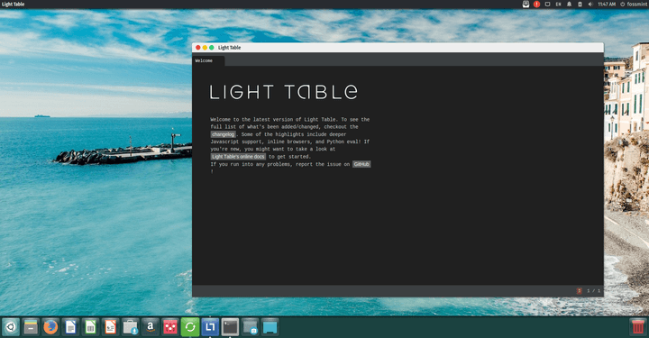 Light Table IDE Editor
