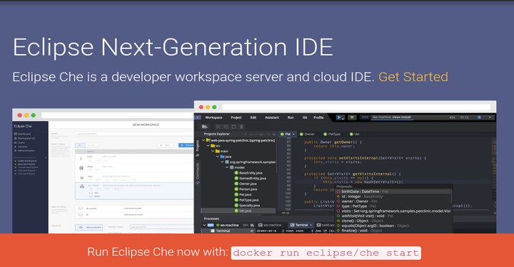 Eclipse Che Cloud Based IDE