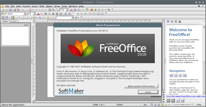 FreeOffice Microsoft Office Alternative