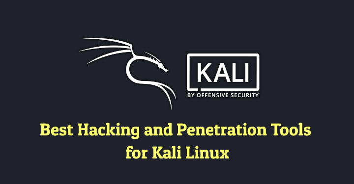 Hacking and Penetration Tools for Kali Linux