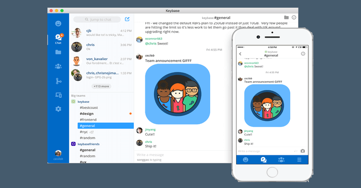 Keybase Secure Chat Messenger