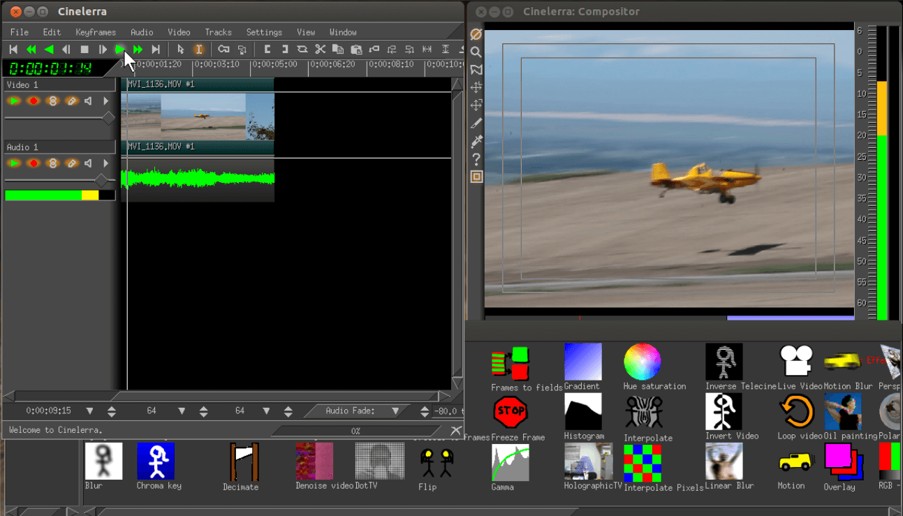 Cinelerra Video Editor